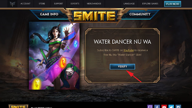 "Free Smite Skins 2016 Tutorial ★ How To Get The Nu Wa ""Water Dancer"" Skin Free"