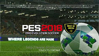 FTS Mod PES 2018 By Ocky Ry Apk + Data Obb Android