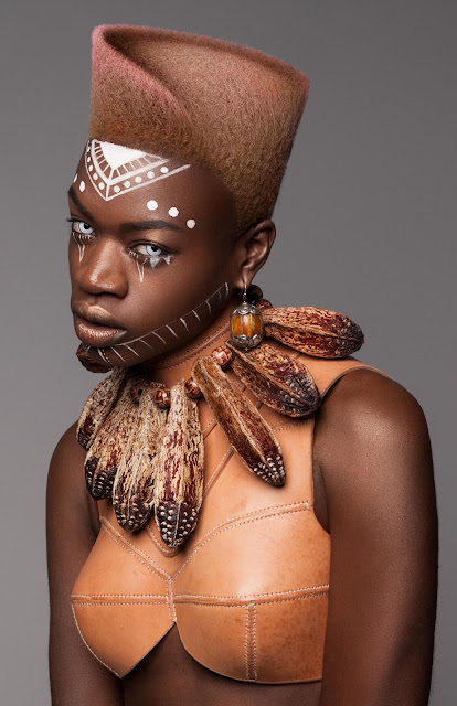 The British Hair Awards recently happened 36 Stunning Futuristic African Inspired Hairstyles To Copy In 2019