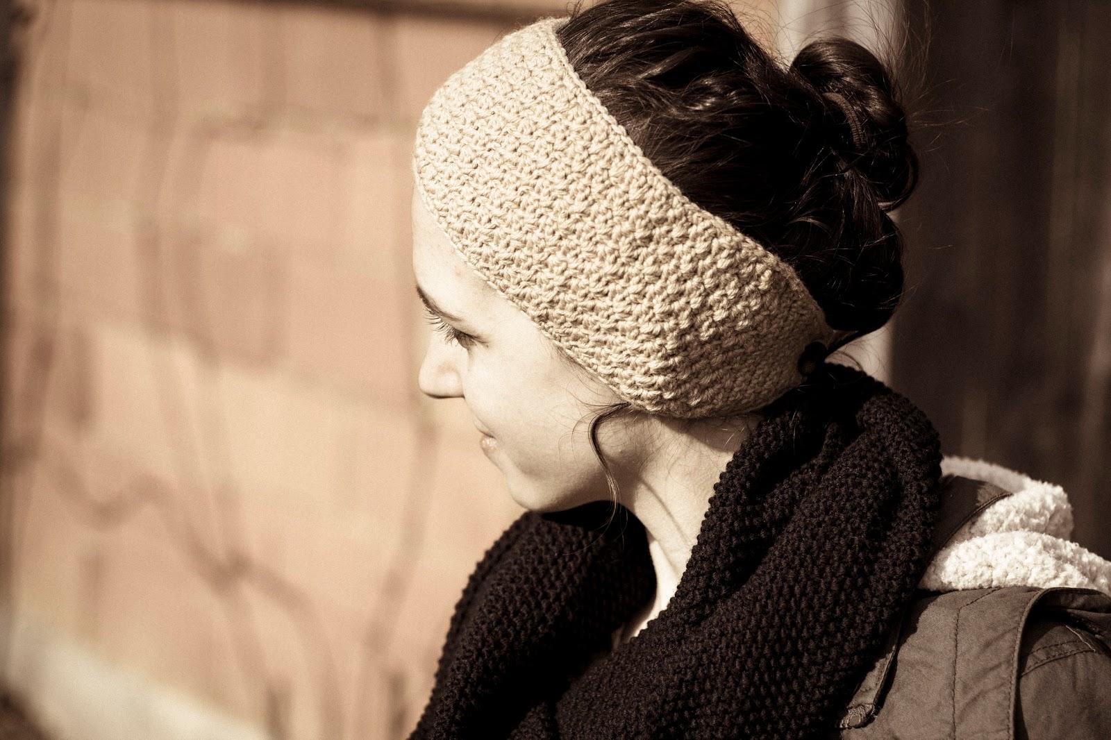 quick winter headband crochet diy