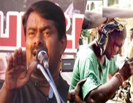 Seeman About Police Brutality in Jallikattu Protest