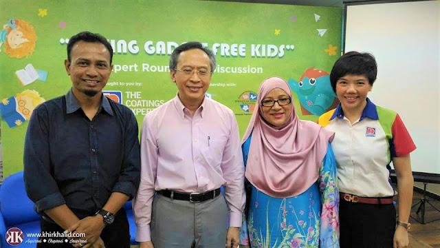 Raising Gadget-Free Kids, Norsheila Abdullah, Datuk Dr Zulkifli Ismail, Gladys Goh, Khir Khalid, Nippon Paint Malaysia,
