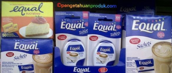 Harga Equal Pemanis Pengganti Gula Terbaru 2015