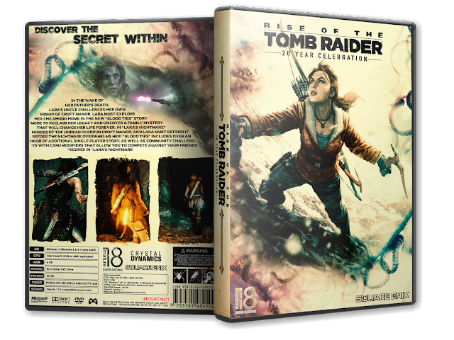 Capa Rise Of The Tomb Raider 20 Year Celebration PC