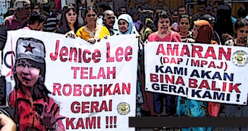 Lagi dasar DAP buat peniaga Melayu menangis... (Updated!)