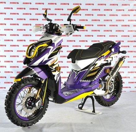 Modifikasi yamaha x ride thailook