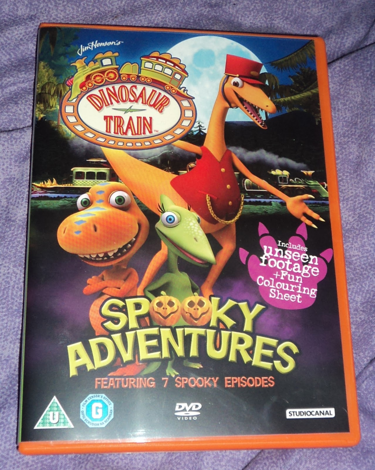 Where Roots And Wings Entwine: Dinosaur Train Spooky ...