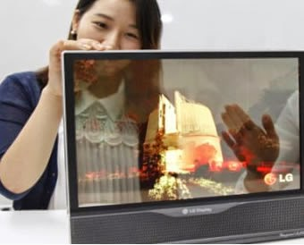 LG introduced its new OLED flexible