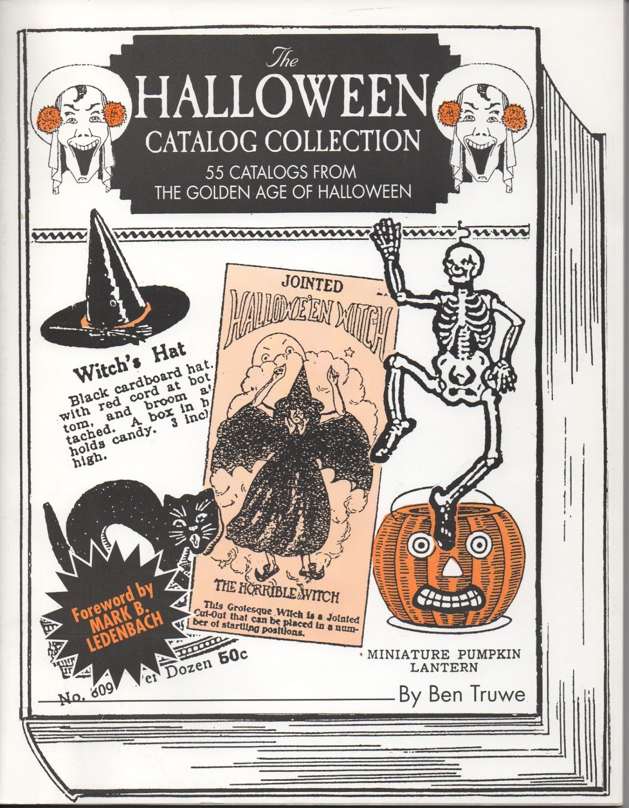 vintage halloween dennison party books and ben truwes halloween catalog collection reference on consignment from old fashion halloween - Halloween Catalogs