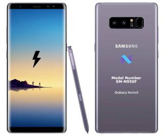Cara Flash Samsung SM-N950F