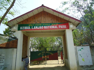 Keibul Lamjao national park