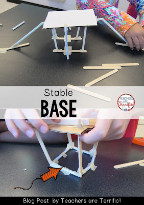 Problem Solving in STEM: How can you make a stable base for your platform? Check this blog post for more!