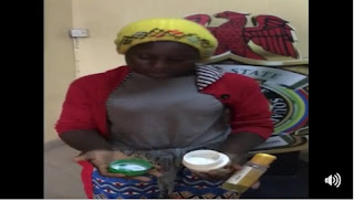 Nigerian Woman Who Uses Charms to Attract Rich Men Arrested by the Police (Photos)