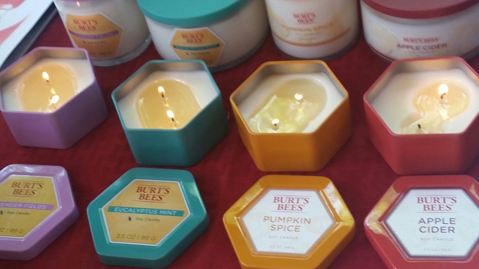 d1bf20455 Burt s Bees Soy Candles