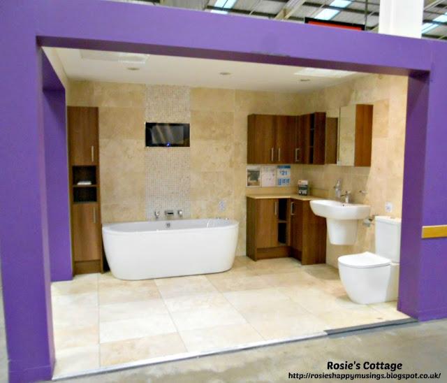 B&Q Bathroom Display