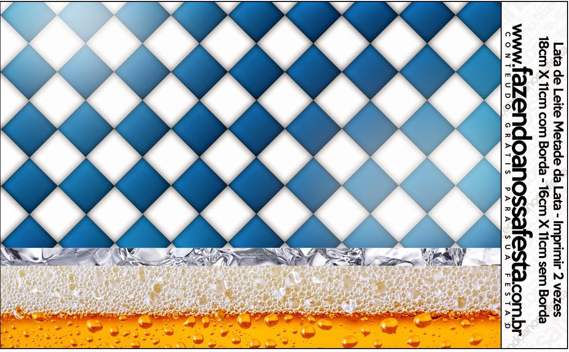 Etiquetas de Fiesta de la Cerveza para imprimir gratis.