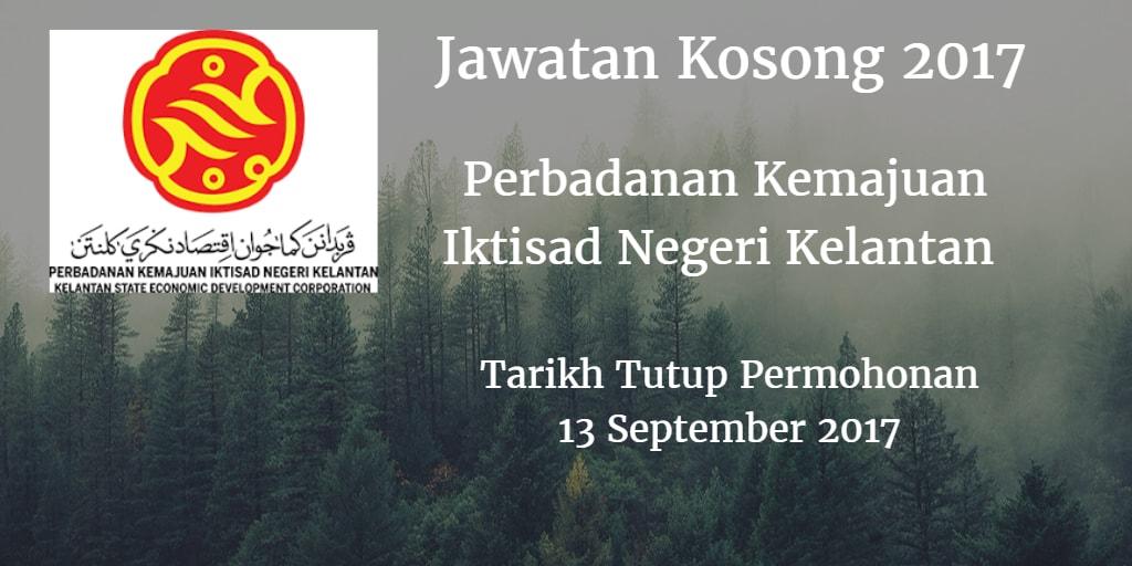 Jawatan Kosong PKINK 13 September 2017