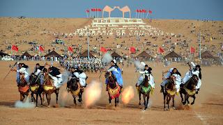 Tbourida au Maroc