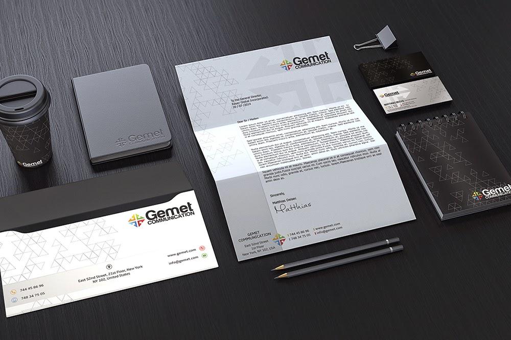 Free Corporate Branding Identity PSD