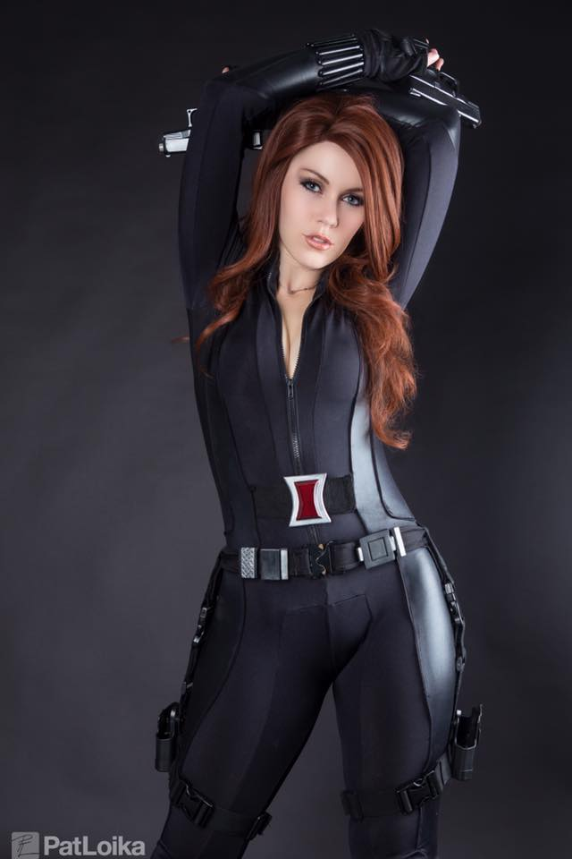 Elarte Cosplay Marvel Universe - Black Widow Cosplay-7666