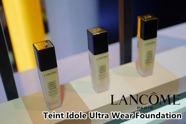 :: รีวิวรองพื้น Lancome Teint Idole Ultra Wear Foundation คุมมันเลิศ ติดทน 24 ชม. ::