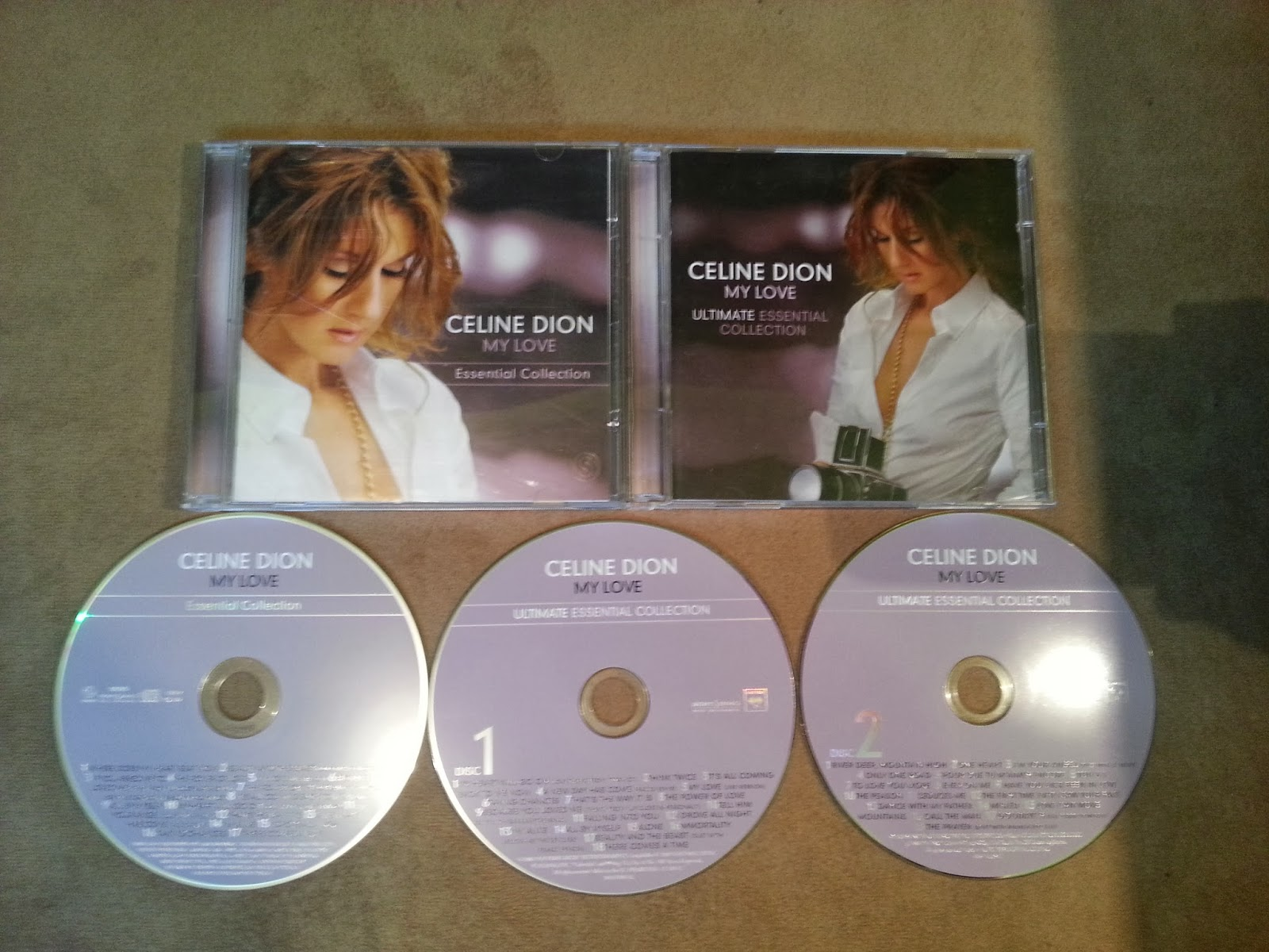 CELINE COLLECTION BAIXAR ULTIMATE ESSENTIAL CD MY DION LOVE
