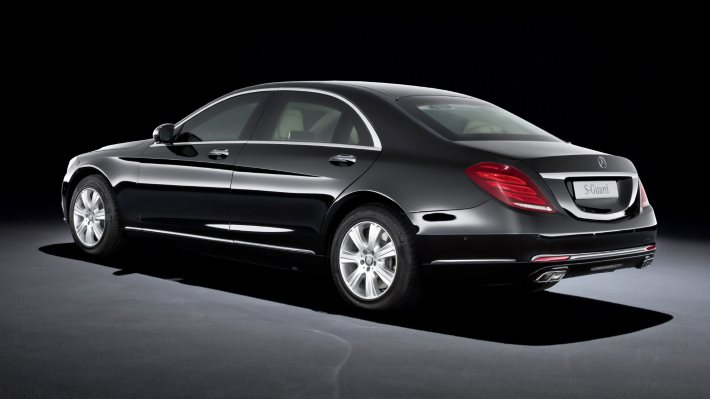 Wallpaper 2: Mercedes-Benz S 600 Guard