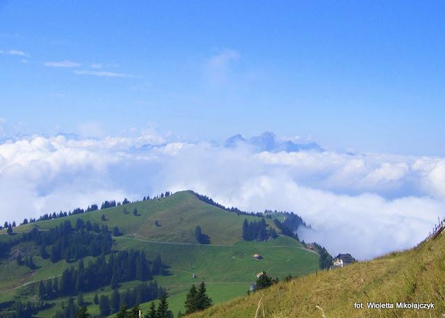 Szwajcaria: Rigi-Królowa Gór. Podróż do chmur.