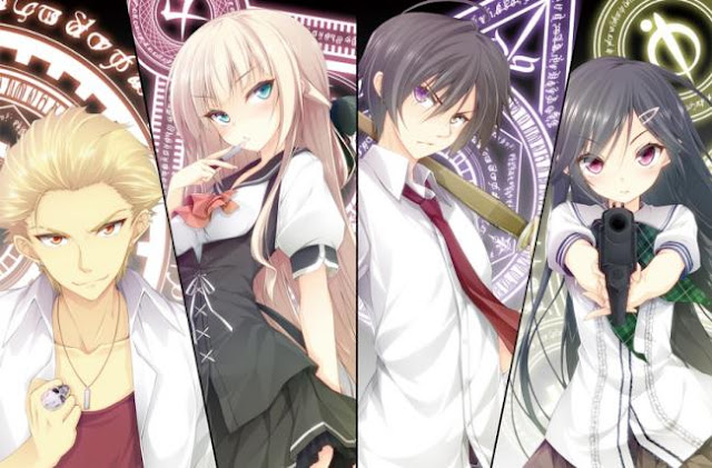 Mahou Sensou - Anime Tokoh Utama Menggunakan Pedang