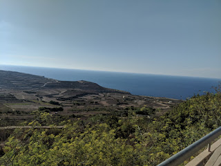 view from Zebbug, Gozo, Malta