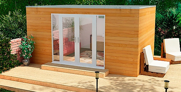 Among The New Designs That Garden Spaces Are Showcasing At Grand Designs Live  In May Is Their Garden Cinema Room Concept A Complete Home Cinema
