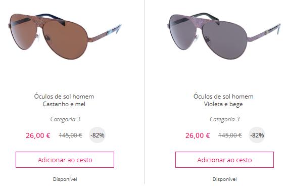 site para comprar óculos de sol Diesel para homem