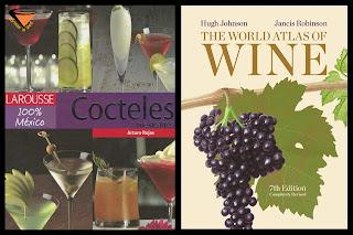 libros vino