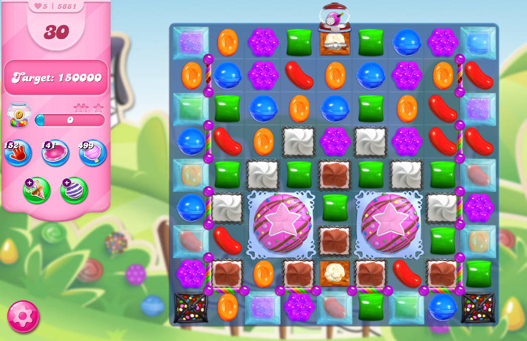 Candy Crush Saga level 5881