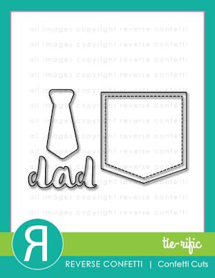 tie-rific confetti cuts
