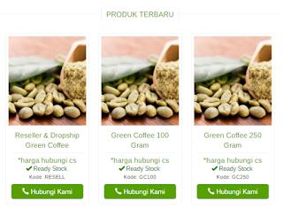 Produk Terbaru Discoffeery Green Coffe