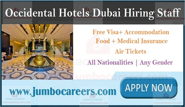 Occidental IMPZ Dubai latest jobs, Current vacancies in Dubai with salary and benefits,