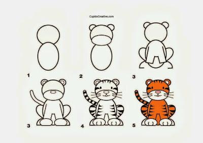Cara Menggambar Hewan dengan Mudah dan Cepat -