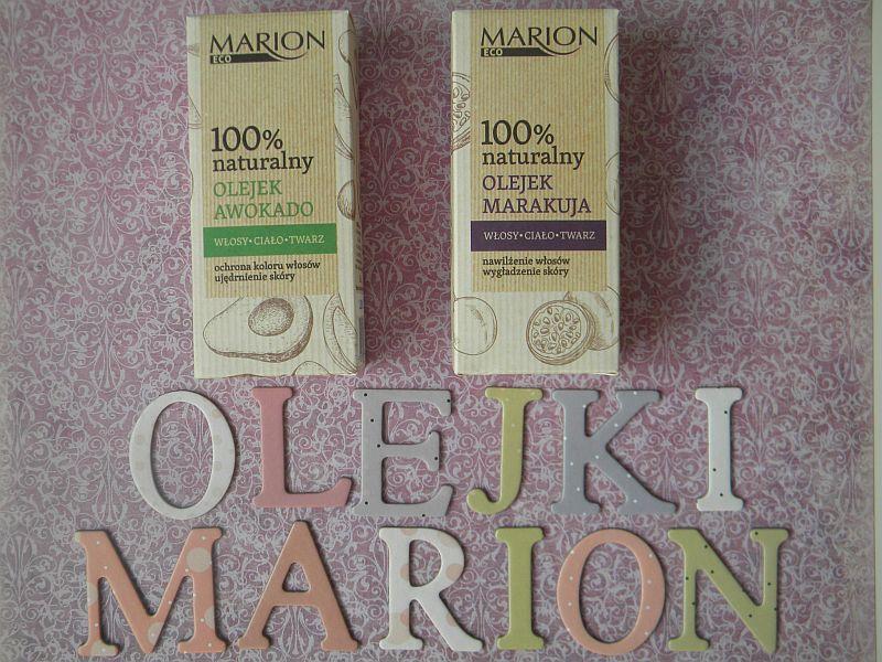 Olejki naturalne od Marion - awokado & marakuja , recenzja.