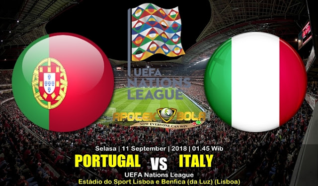 Prediksi Portugal Vs Italia 11 September 2018