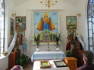 Страдч. Часовня и святой образ Божией Матери Нерушимая Стена