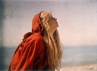 Christina in a Red Cloak, 1913, Mervyn O'Gorman © Royal Photographic Society Collection