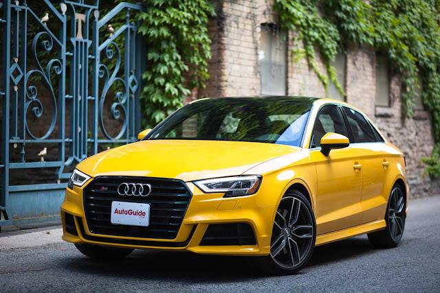Audi s3 2018 fiche technique: caractéristiques, spécifications