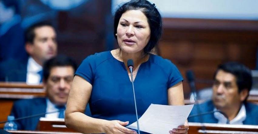 Congresista Fujimorista Yesenia Ponce es acusada de presunto tráfico de influencias en el proyecto Chinecas
