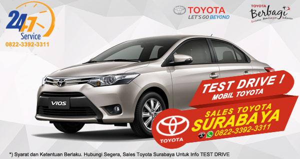 Info Test Drive Toyota Vios Surabaya