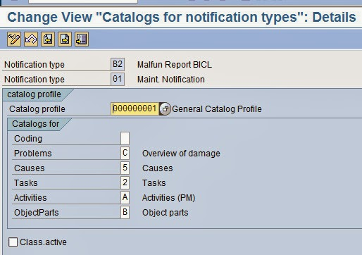 change notification sap