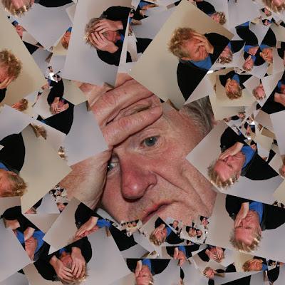 صورة معبرة لمريض الزهايمر