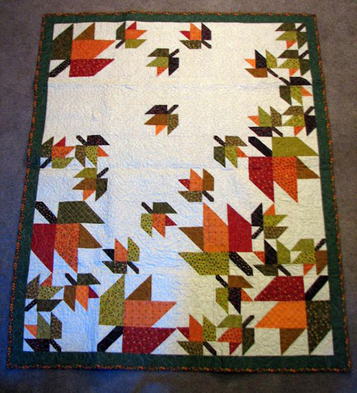 Forest Floor Quilt Free Pattern