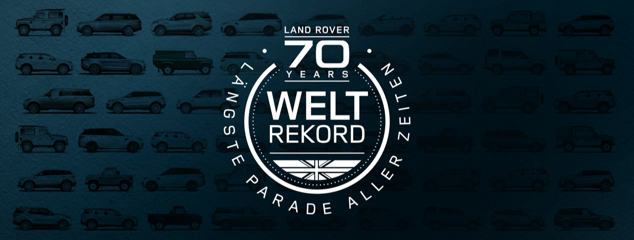 Die längste digitale Land Rover Parade startet und du kannst dabei sein | Gewinnspiel Tipp