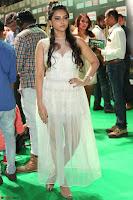 Meghana Gaur in a Deep Neck Sleeveless White Gown at IIFA Utsavam Awards 026.JPG